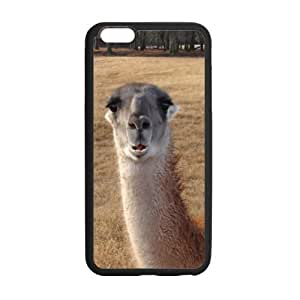 """super shining day Best Animal Llama iPhone 6 Plus 5.5"""" Back Covers With TPU Material Material"""
