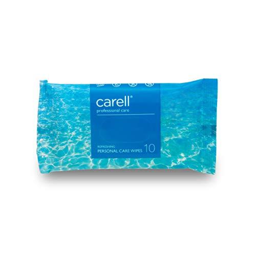 Carell Professional Care – verfrissende doekjes voor persoonlijke verzorging, 10 stuks doekjes – zacht, dermatologisch…