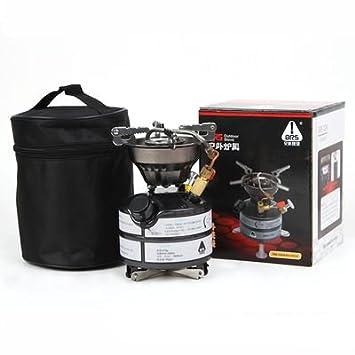 LaDicha Ars-12A Portable Alta Altitud Queroseno Estufa Diesel Gasolina Líquido Quemador De Combustible 2117W: Amazon.es: Hogar