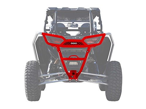 Heavy Duty Rear Bumper - SuperATV Polaris RZR 1000 / 1000 4 / Turbo / Turbo 4 (2014+) Heavy Duty Rear Bumper - Red