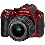Pentax K-30 Weather-Sealed 16 MP CMOS Digital SLR with 18-55mm Lens (Red)