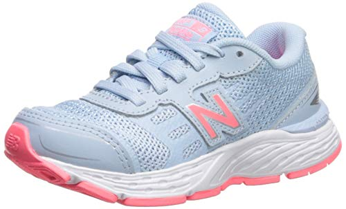 New Balance Girls' 680v5 Running Shoe air/Guava 2.5 W US Little Kid