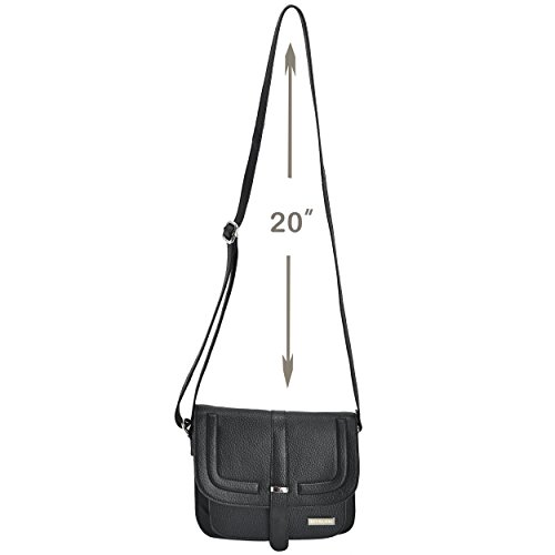 1ecb90827715 Leather Crossbody Purse Bag For Women - Cross Body Over The Shoulder ...