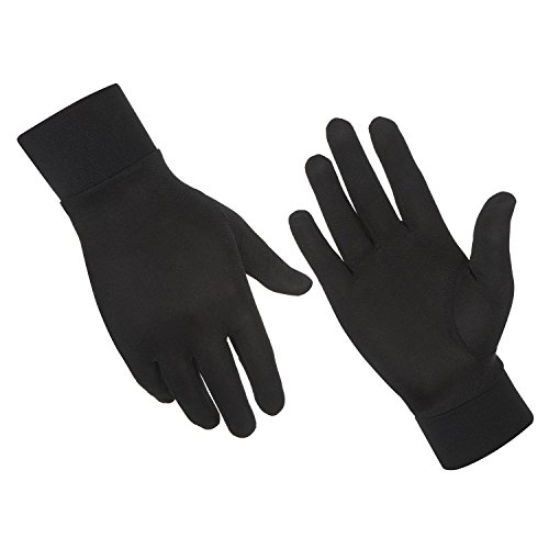 ALASKA BEAR - Natural Silk Gloves Thermal Liner Unisex