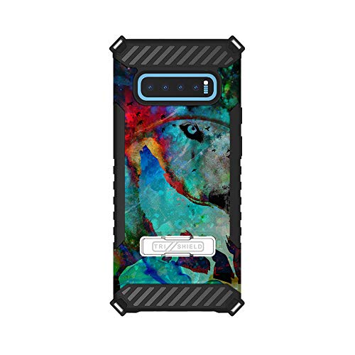 Trishield Hybrid Case with Kickstand for Samsung Galaxy S10 Plus by InfoposUSA