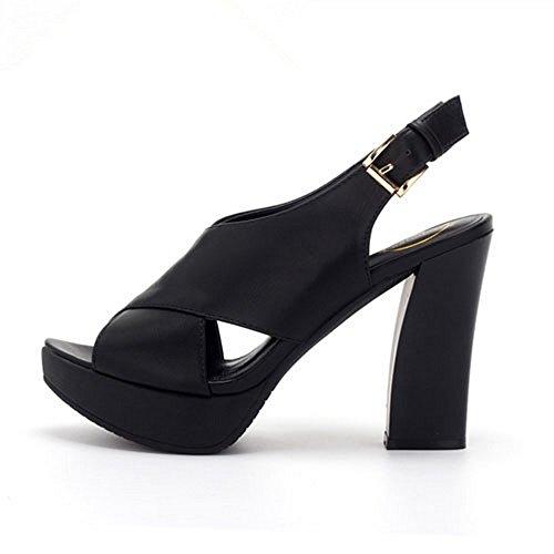 Flip LI basse sandali Peep scarpe heelsWomen sandali Ladies toe di Flop BAJIAN estivi Alta scarpe PAdqwxRR