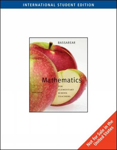 Download Mathematics for Elementary School Teachers PDF