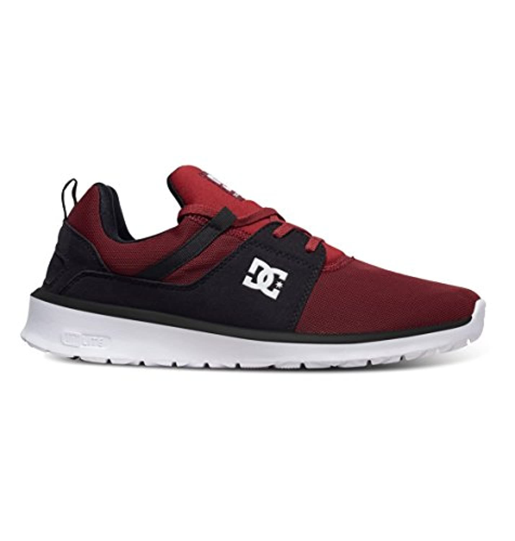 DC Shoes Heathrow, Men's Low-Top Sneakers, Red (Chili Pepper - CHIA), 4 UK (37 EU)