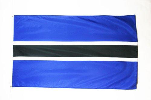 - AZ FLAG Botswana Flag 3' x 5' - Botswanan Flags 90 x 150 cm - Banner 3x5 ft