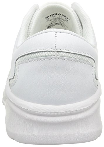 Sneakers white Adults' White Low Unisex white top Supra Noiz q4P6vH