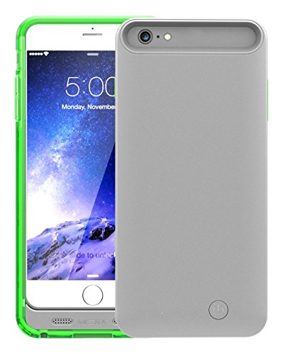 TAMO iPhone 6 Plus/6s Plus Extended Battery Case, Green, 4000 mAh