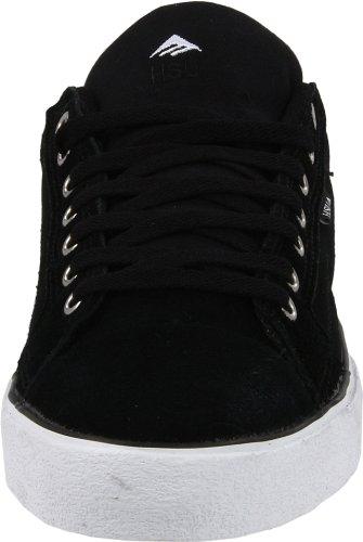 FUSION Schwarz de White ante LOW skate de Emerica HSU Negro unisex 6102000070 2 Zapatillas Black txwqB7SY