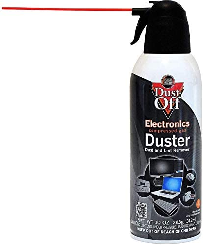 Falcon Dust-Off Electronics Compressed Gas Duster 10 oz. (4 Pack) [New Improved Version]