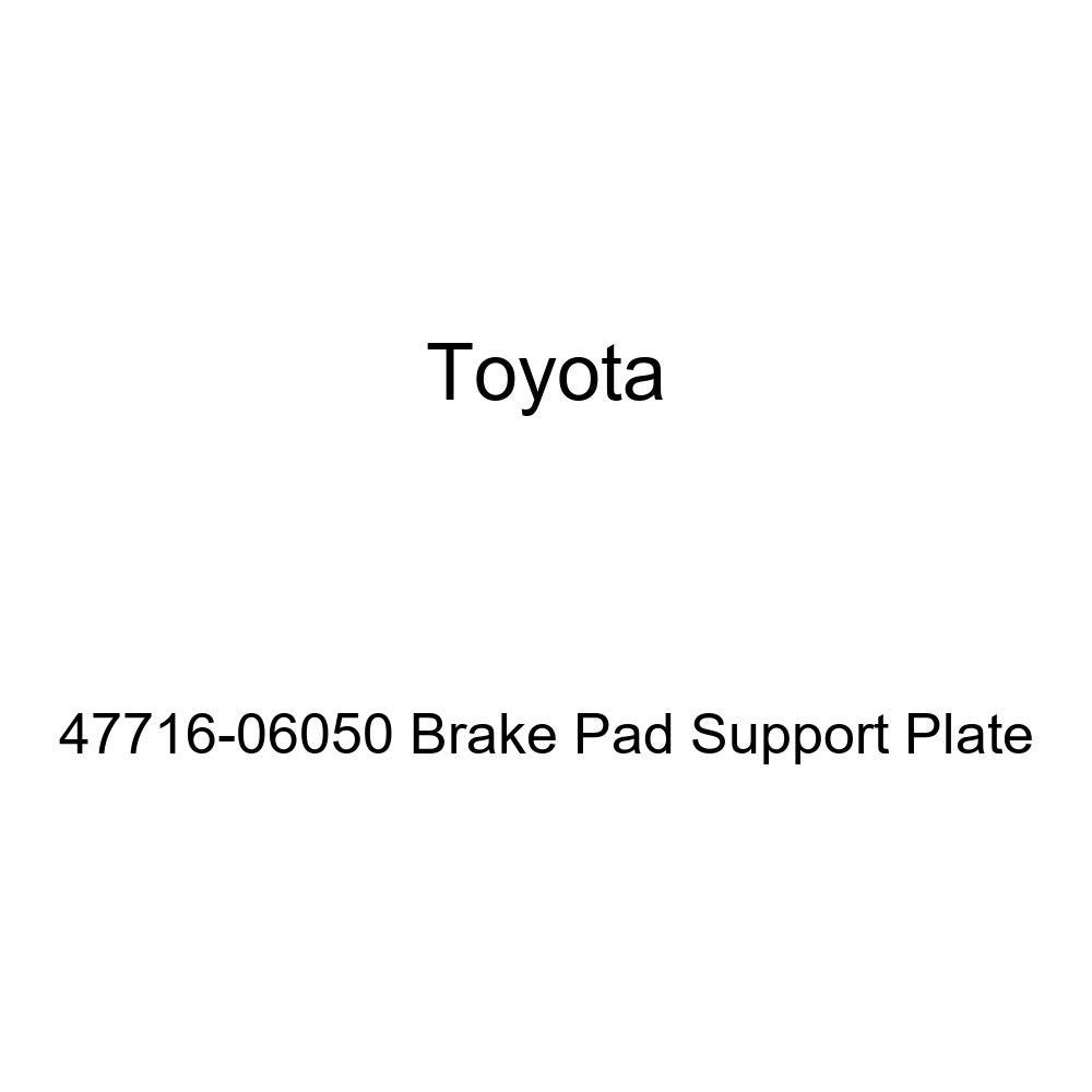 Genuine Toyota 47716-06050 Brake Pad Support Plate