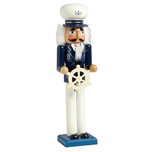 Nantucket Home Wooden 15 Sea Captain Christmas Nutcracker Decor