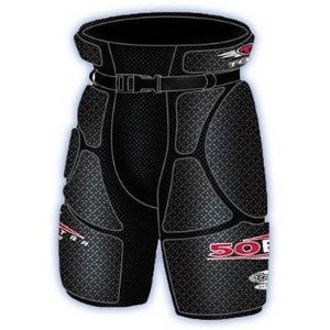 Tour Hockey Youth Grunt 50Bx Hip Pads, Large