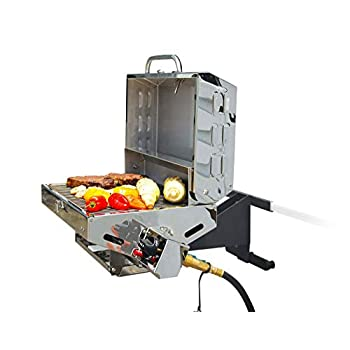 Image of Appliances Camco 57305 Olympian 5500 Stainless Steel Portable/Rv Grill