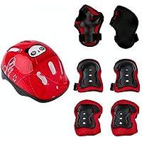 Mor Sporting Roller Skate Cycle Helmet Knee Wrist elbo kit for Kids