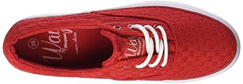 Exterior Rojo Canvas Zapatillas Mujer Deporte de BEPPI Vermelho Para Shoe aW8dxwXREq