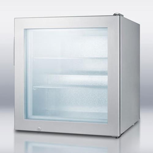 Summit – SCFU386 – Glass Door Compact Display Freezer