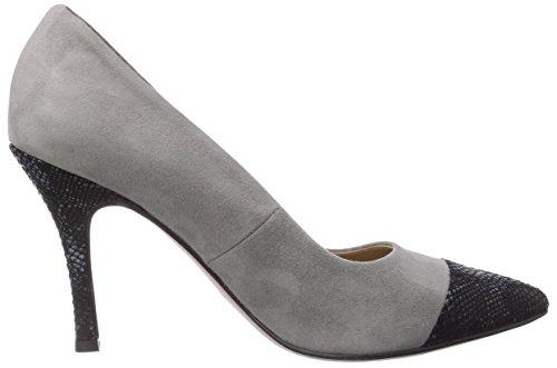 Mehrfarbig du Avant Snake à Grey Blk Chaussures Tamaris femme talons Multicolore pieds couvert 22427 227 awvqnnTSxZ