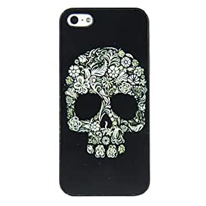 JJE Kinston Balance of Flowers Diamond Paste Pattern PU Leather Full Body Case with Stand for iPhone 5/5S