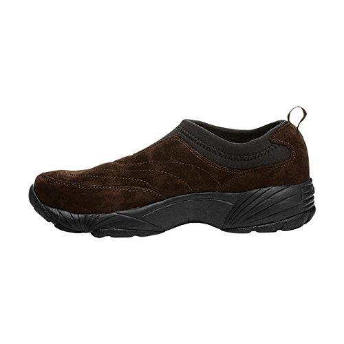 Propet Men's M3850 Washable Moc Walking Shoe Brownie, Black