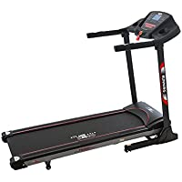 Christopeit TM 500S 400 x 1300 mm 15 km/h Treadmill – Laufband (130 kg, 2 km/h, 15 km/h, verbrannte, Distance, Time, Black, Buttons)