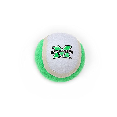Pet Goods Manufacturing Marshall Thundering Herd Tennis Ball
