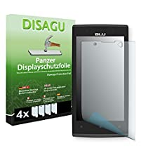 4 x DISAGU Armor screen protector for BLU Win JR LTE screen fracture protection film