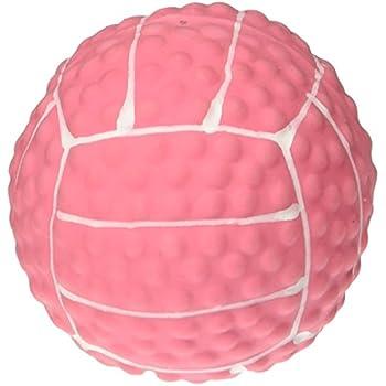 Coastal Mini Latex Pink Volleyball Dog Toy