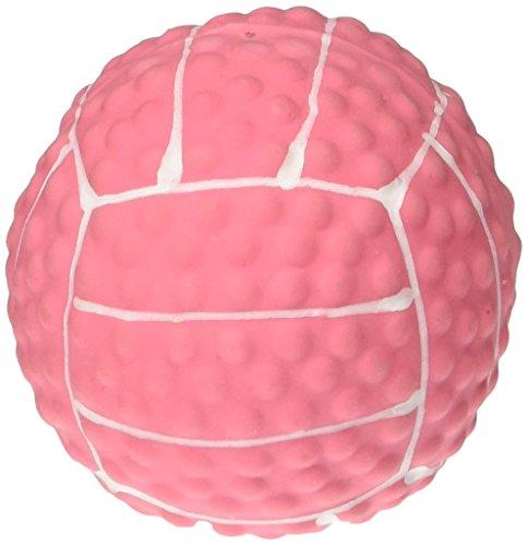 (Coastal Mini Latex Pink Volleyball Dog Toy)