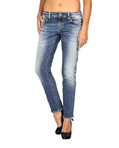 MELTIN'POT - Women's Jeans Maelle - Regular Loose - Length 29 - Blue, W30