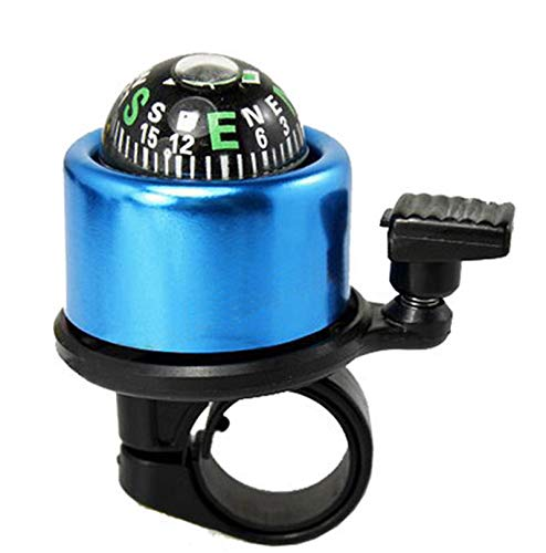 (Glumes Bicycle Bell, Popular Bike Cycling Sport Handlebar Compass Ring-Down Ring Horn Accessories for Adults Kids Mountain Bike Racing Road Bike Gift)