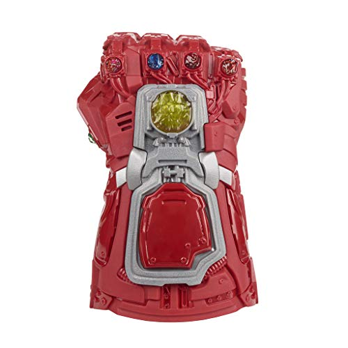 419fnO%2BC2 L - Avengers Marvel Endgame Red Infinity Gauntlet Electronic Fist Roleplay Toy with Lights and Sounds for Kids Ages 5 and Up