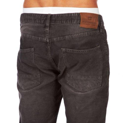 Scotch And Soda B.v. 5 Pocket Corduroy Pants Anthrazit Jeans Herren