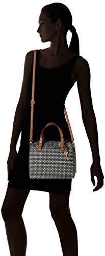 Fossil Rachel Satchel Handbag, Black Dot by Fossil (Image #6)