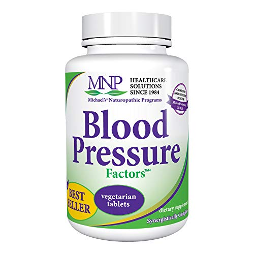 (Michael's Naturopathic Programs Blood Pressure Factors - 90 Vegetarian Tablets - Fluid Balance Support, Nourishes Cardiovascular & Nervous Systems - Gluten Free, Kosher - 30 Servings)