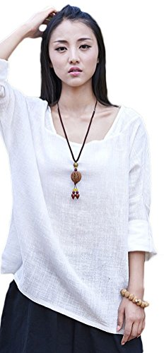 Soojun Womens Casual Sleeve Collar