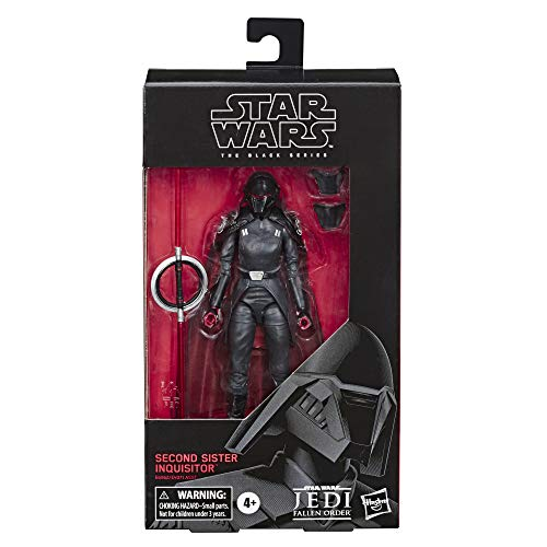 Star Wars Inquisitor (Star Wars The Black Series Second Sister Inquisitor Toy 6-inch Scale Jedi: Fallen Order Collectible Action Figure, Ages 4 and)