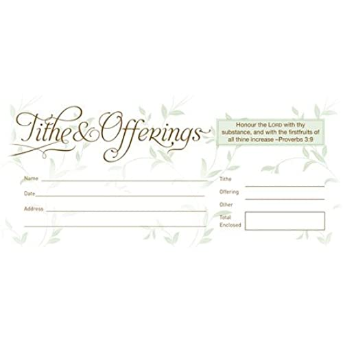 Church Offering Envelopes Amazoncom - Church offering envelopes templates free
