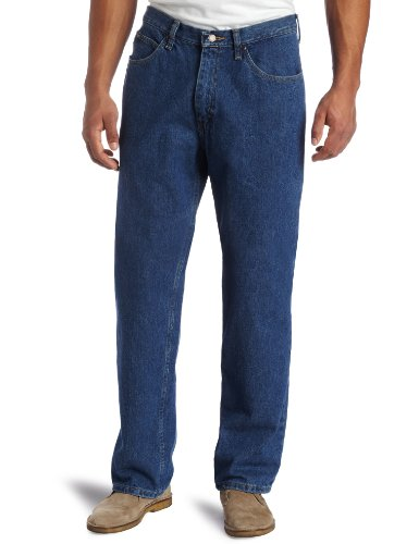 Aged Jeans - Lee Men's Relaxed Fit Straight Leg Jean, Pepperstone,  38W x 36L