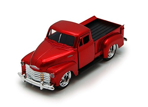 1953 Chevy Pickup Truck, Red - Jada Toys Just Trucks 97007 - 1/32 scale Diecast Model Toy Car (53 Chevy Truck Model compare prices)
