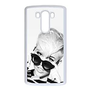 Singer Miley Cyrus LG G3 Cell Phone Case White Exquisite gift (SA_468063)
