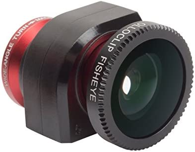 Red olloclip 4-in-1 Lens Solution for iPhone 5