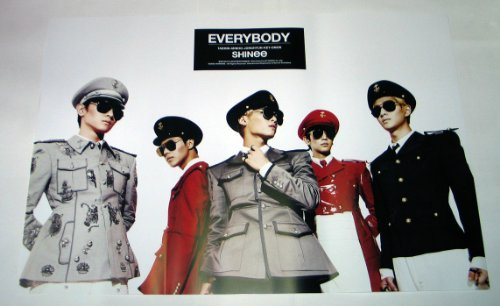 SHINee - Everybody (5th Mini Album) OFFICIAL POSTER 30.3 x 20.5 inches