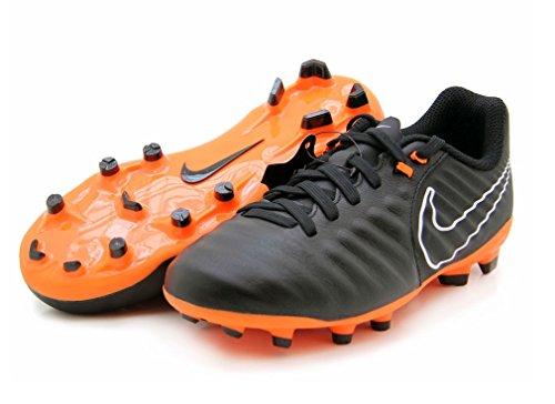 Nike Unisex-Kinder Jr Legend 7 Academy FG Fußballschuhe BLACK/TOTAL ORANGE-B