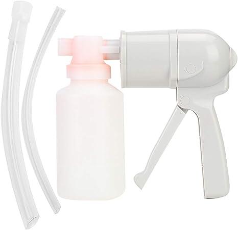Taidda Succionador de flema, Dispositivo de Bomba de succión de flema Manual Compacto Dispositivo de succión respiratoria para Ancianos en el hogar: Amazon.es: Hogar