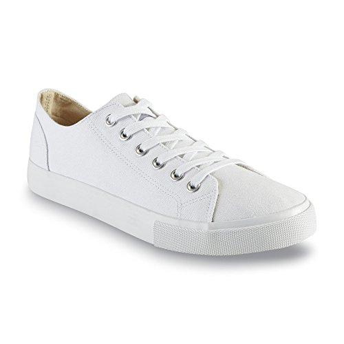 Joe Boxer Mens Union Canvas Oxford Sneaker White USEdEio