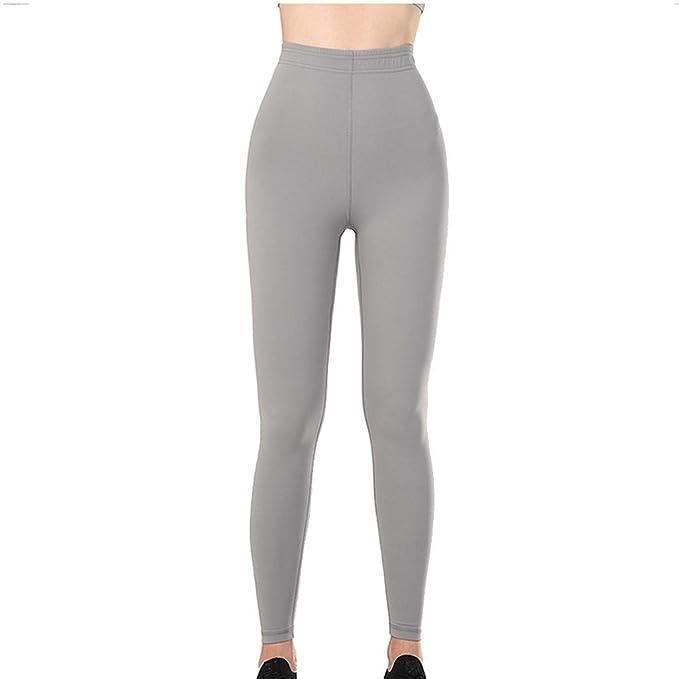 Lunule Pantalones de Yoga Mujer Ajustados Cintura Alta ...